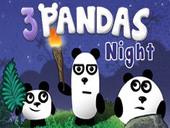 3 Pandas 2 Night