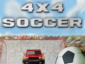 футбол на машинах 4x4