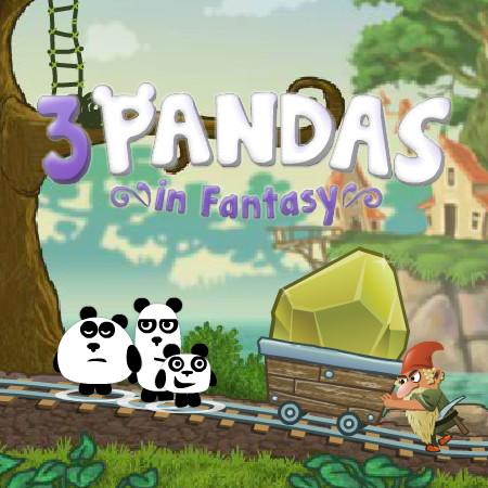 3 Pandas in Fantasy online