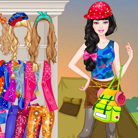 Anzieh Spiele Barbie