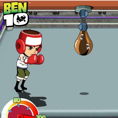 игра бокс бен 10