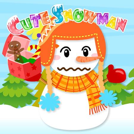 игры сделай снеговика