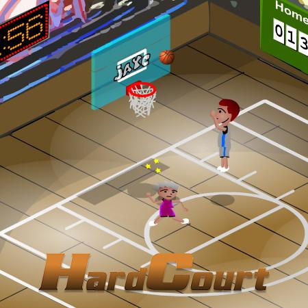 гра баскетбол на двох