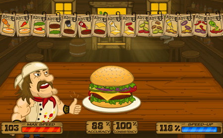 сумасшедший гамбургер
