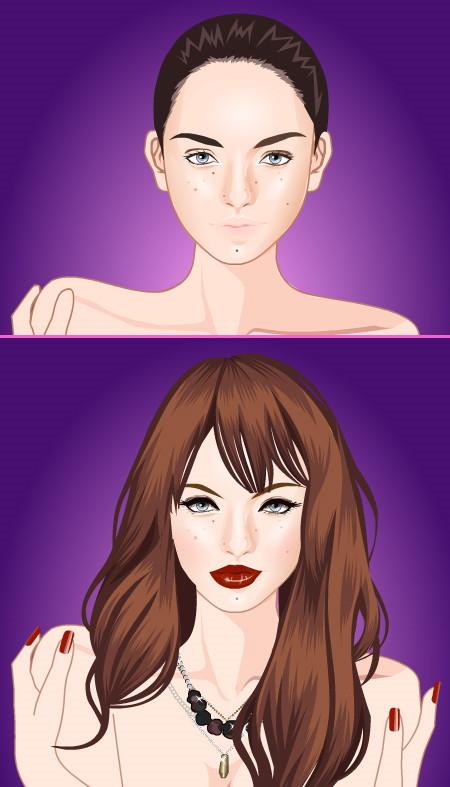 ігри макіяж