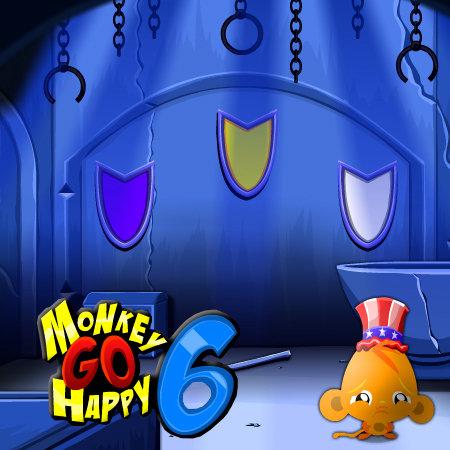 счастливая обезьянка 6
