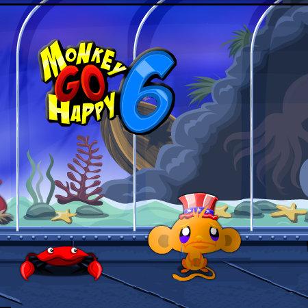 игры счастливая обезьянка 6