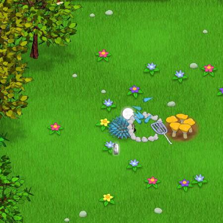 игра защита грибов