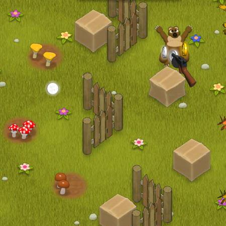 защита грибов играть