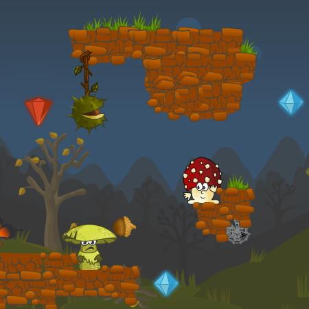 игра война грибов