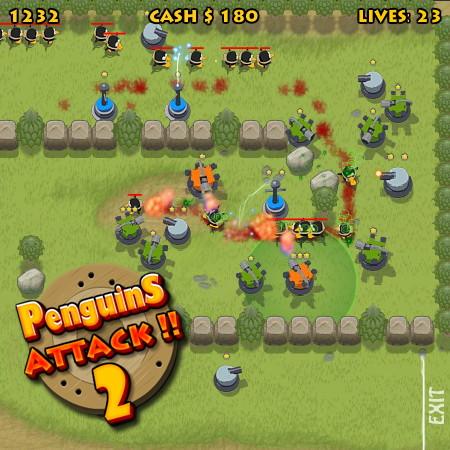 игры атака пингвинов 2