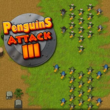 игра атака пингвинов 3