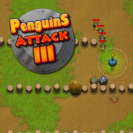 атака пингвинов 3