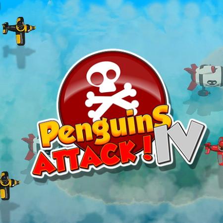 игры атака пингвинов 4