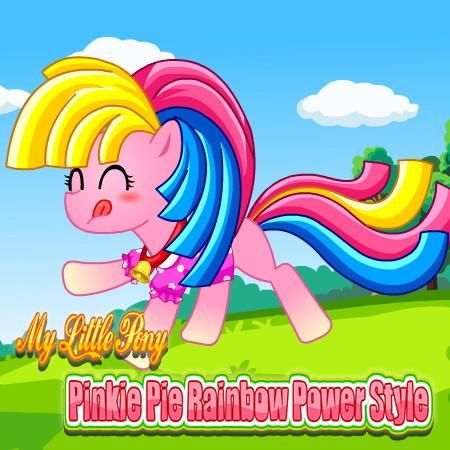 создай пони пинки пай
