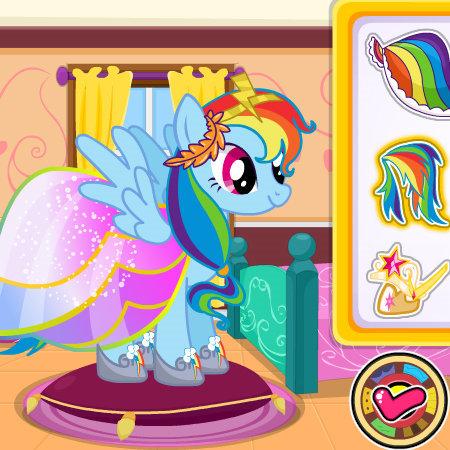 игры принцесса пони