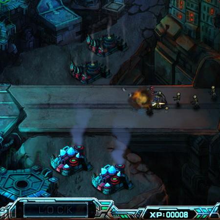 игра роботы против зомби