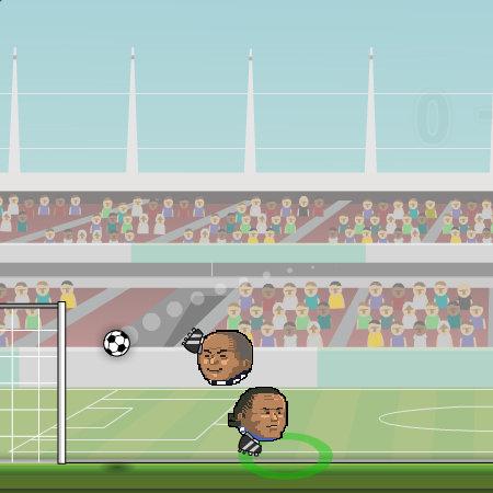 гра футбол головами на двох