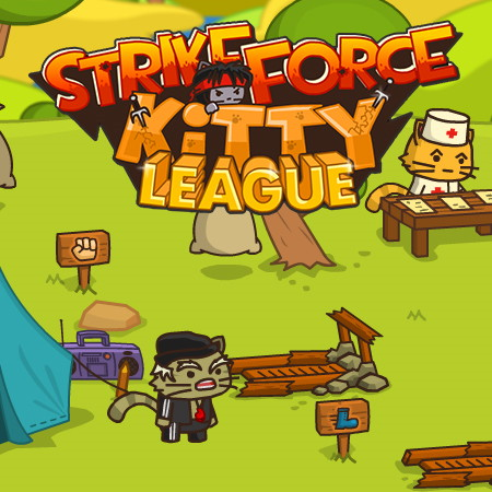 Strike force kitty 1 играть