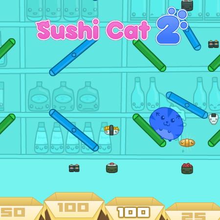 гра суші кіт 2