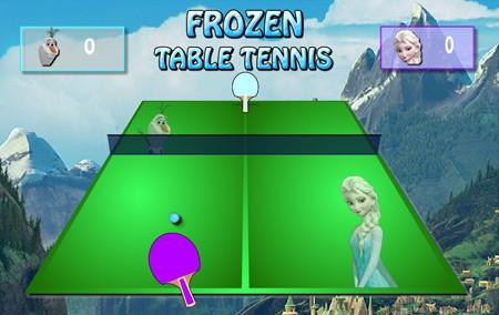 frozen table tennis