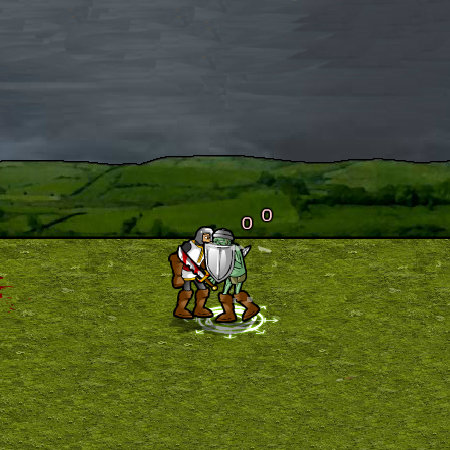 игры зомби рыцарь