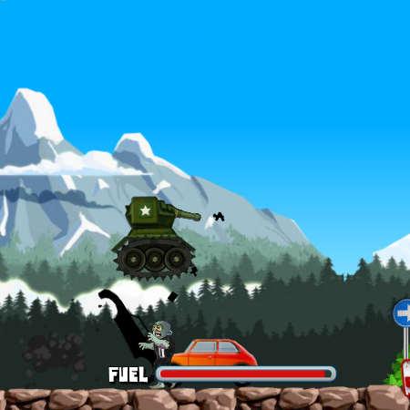 зомби танк играть