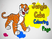 Jungle Cubs Coloring