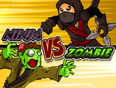 игра ниндзя против зомби