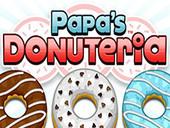 гра папа луї пончики