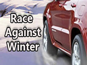 гра зимові гонки на двох