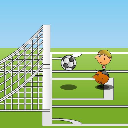 футбол один на один играть