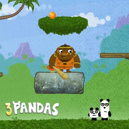 гра 3 панди 1