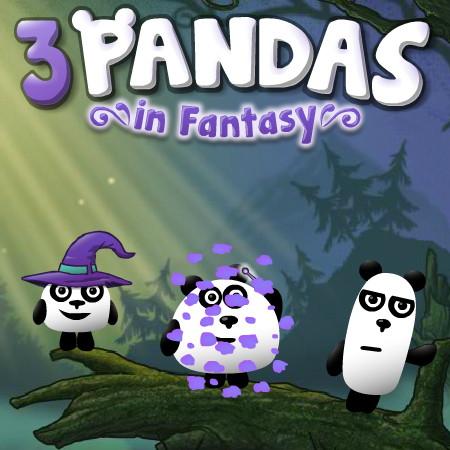 3 панди в фантазії