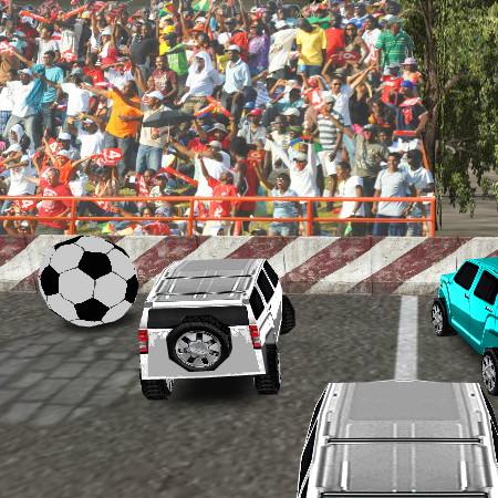 игры футбол на машинах