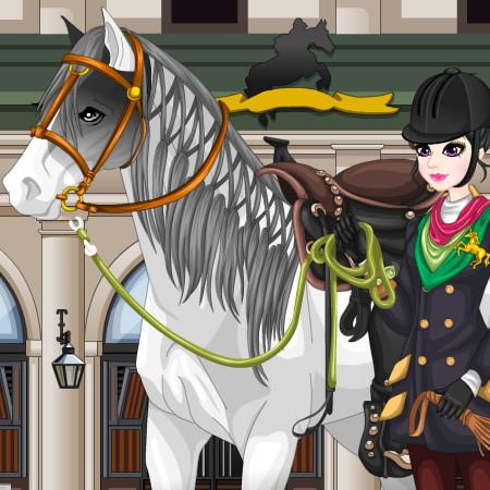 игра барби на лошади