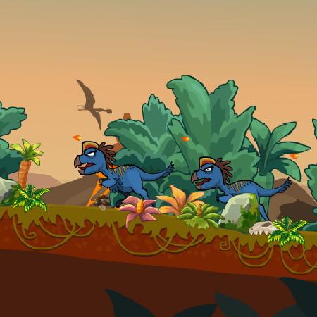 ігри полювання на динозаврів