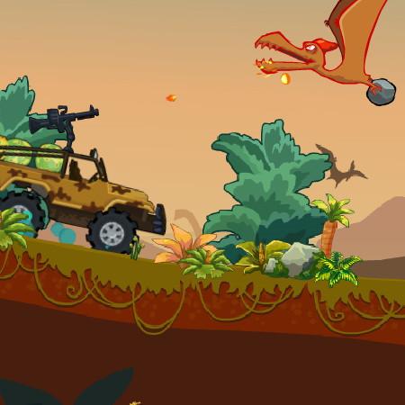 гра полювання на динозаврів