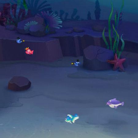 игра рыбка ест рыбку