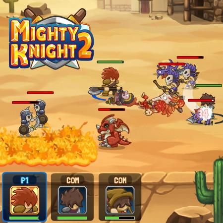 игры могучий рыцарь 2