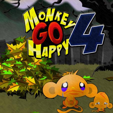 play Monkey go Happy 4