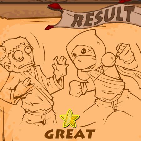гра ніндзя проти зомбі
