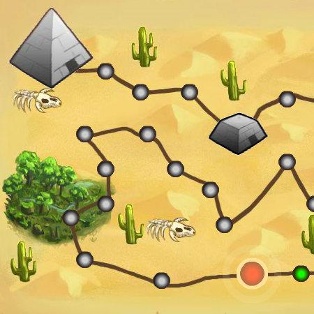 гра панди в пустелі