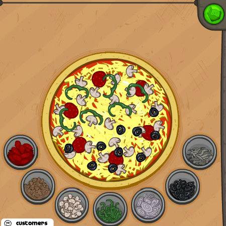 игры папа луи пицца