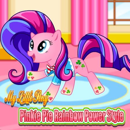 игры создай пони пинки пай
