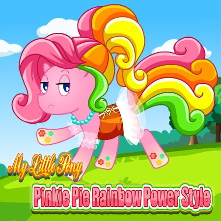 игра создай пони пинки пай