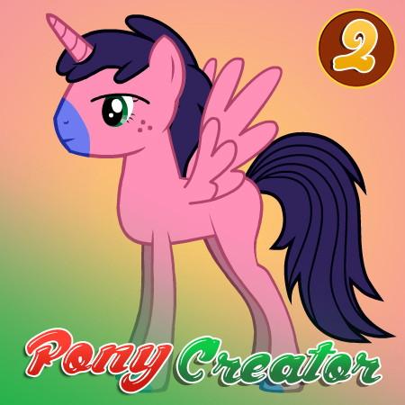 игра создай свою пони 2