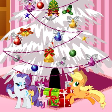 игра пони новый год