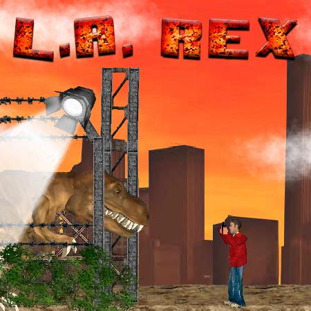 динозавр рекс в лос анджелесе
