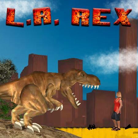 игры динозавр рекс в лос анджелесе